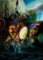Somos guerreros by Raro666