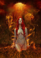 Lady of fire by Raro666