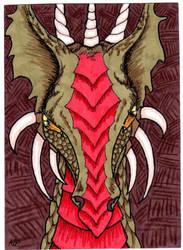 ATC Bronze Dragon by DRAGON-STARR