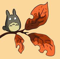 Chibi Totoro by Crafty-lil-vixen