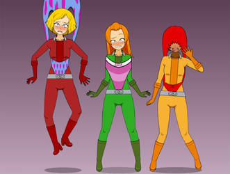 Totally Spies: Wedgies Much? by MasterWedgier
