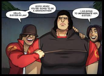 no impregnation - tf2 comic edit by unoriginaI