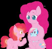 meeting the little one by unoriginaI