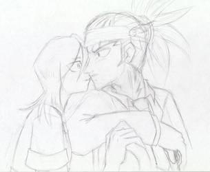 Renji x Ruki - Accidental kiss by mimiru