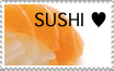 Sushi stamp by Auri3
