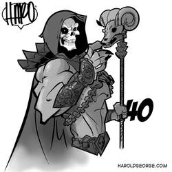 Skeletor from He-Man by haroldgeorge-gsting