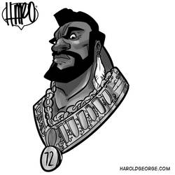 Mr T by haroldgeorge-gsting
