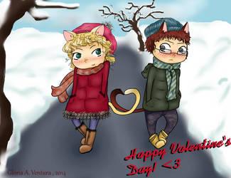 Inu-X-Neko Valentine's Day ~Love~! by G-Angely09