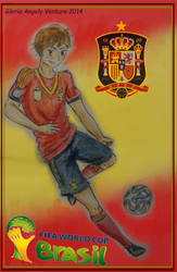World Cup 2014, Spain by G-Angely09