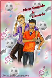 Diego Armando y Leonardo by G-Angely09