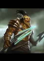 Orc warrior by Nekurai