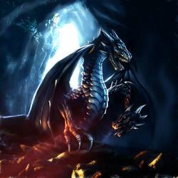 DH dragon by Nekurai