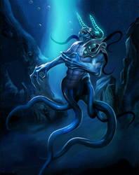 Monsters of the deep sea by Nekurai