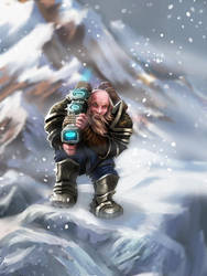 Dwarf rifleman by Nekurai