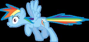 Rainbow Dash Freeze by MoongazePonies