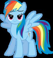 Rainbow Dash Surprise by MoongazePonies