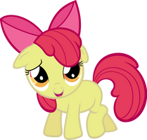 Shy Applebloom by MoongazePonies