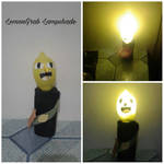 Lemongrab lampshade by Darl-Stream