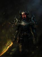 Burning Sword by nibelwolf