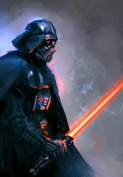 Darth Vader by nibelwolf