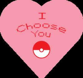 I choose you Valentine by kingdomhearts95