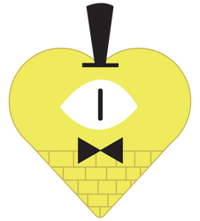 Bill Cipher by kingdomhearts95