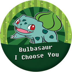 Bulbasaur, I choose you by kingdomhearts95
