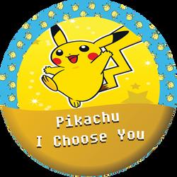 Pikachu, I choose you by kingdomhearts95