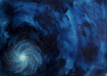 Spiral Galaxy. by Glorac