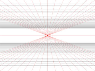 Practical 1 Point Perspective Grid Template By Betsyilration On Deviantart