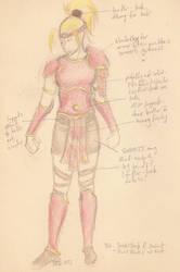 Diablo 2 Amazon cosplay concept by Boreotheria