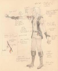 Diablo 2 Necromancer cosplay concept by Boreotheria