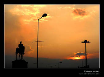 Ataturk Sculpture in Ulus 2 by ataturk-gencligi