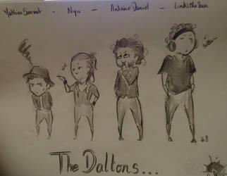 Les Daltons by Ayane45
