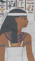 egyptian tomb painting by egypt-club