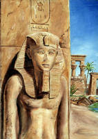 Egyptian Statue by egypt-club
