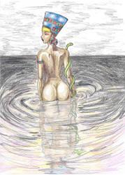 Nefertiti by Lady Bozi by egypt-club