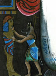 AnubisPrepares by egypt-club