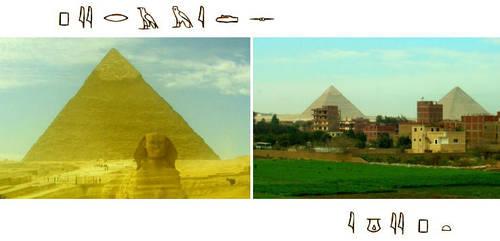 pyramids by egypt-club
