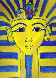 Pharaoh Tutankhamun by egypt-club