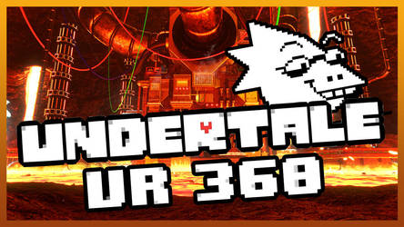 [Undertale] Hotland 3D VR (link in desc) by Latyprod