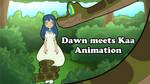 Dawn meets Kaa by Ragadabah