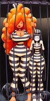 Sera Bellum and Co Behind Bars by Ragadabah