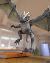 dragon plastic toy3 by asinnn