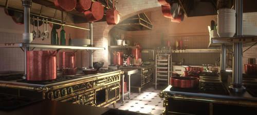 Gusteau's Kitchen by asinnn