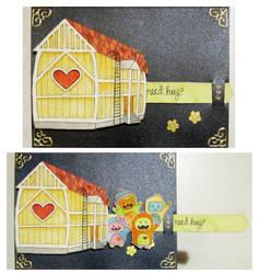 Need hug -  card by Coccis