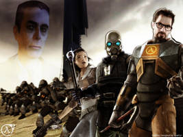 Half-Life 2 Ultimate Wallpaper by SparkyX