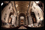 Peter's Basilica by BrightRedFox