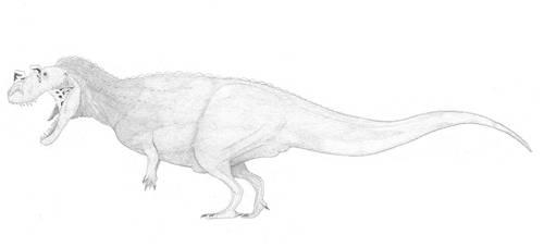 A (less?) conservative ceratosaur by pilsator