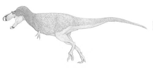 A Conservative Gorgosaur 2.0 by pilsator